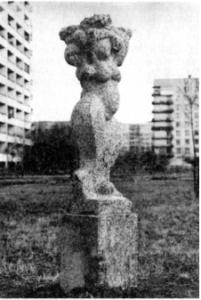 Скульптура «Плодородие» в Петербурге на ул. Турку
