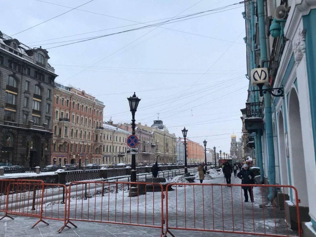 Февральская самоизоляция в Петербурге