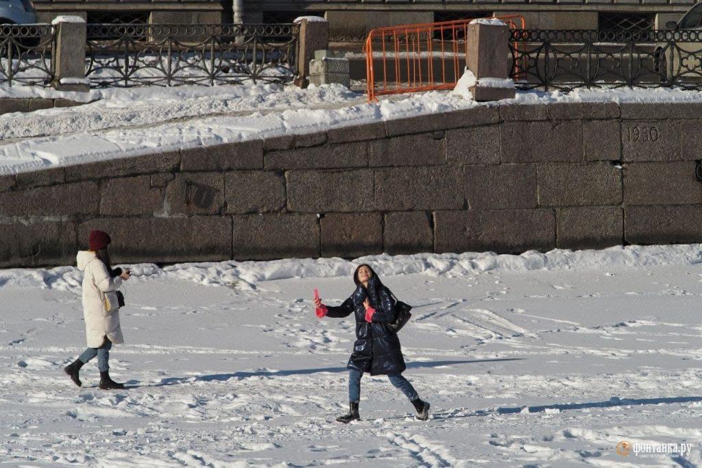 Солнечный зимний Петербург прекрасный